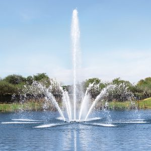 AerationJet lake fountain