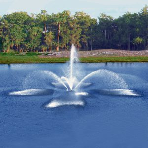 FanJet Fountain by vertex close up
