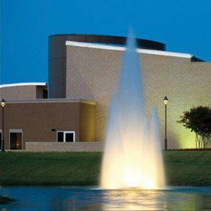 MultiGeyser lake fountain